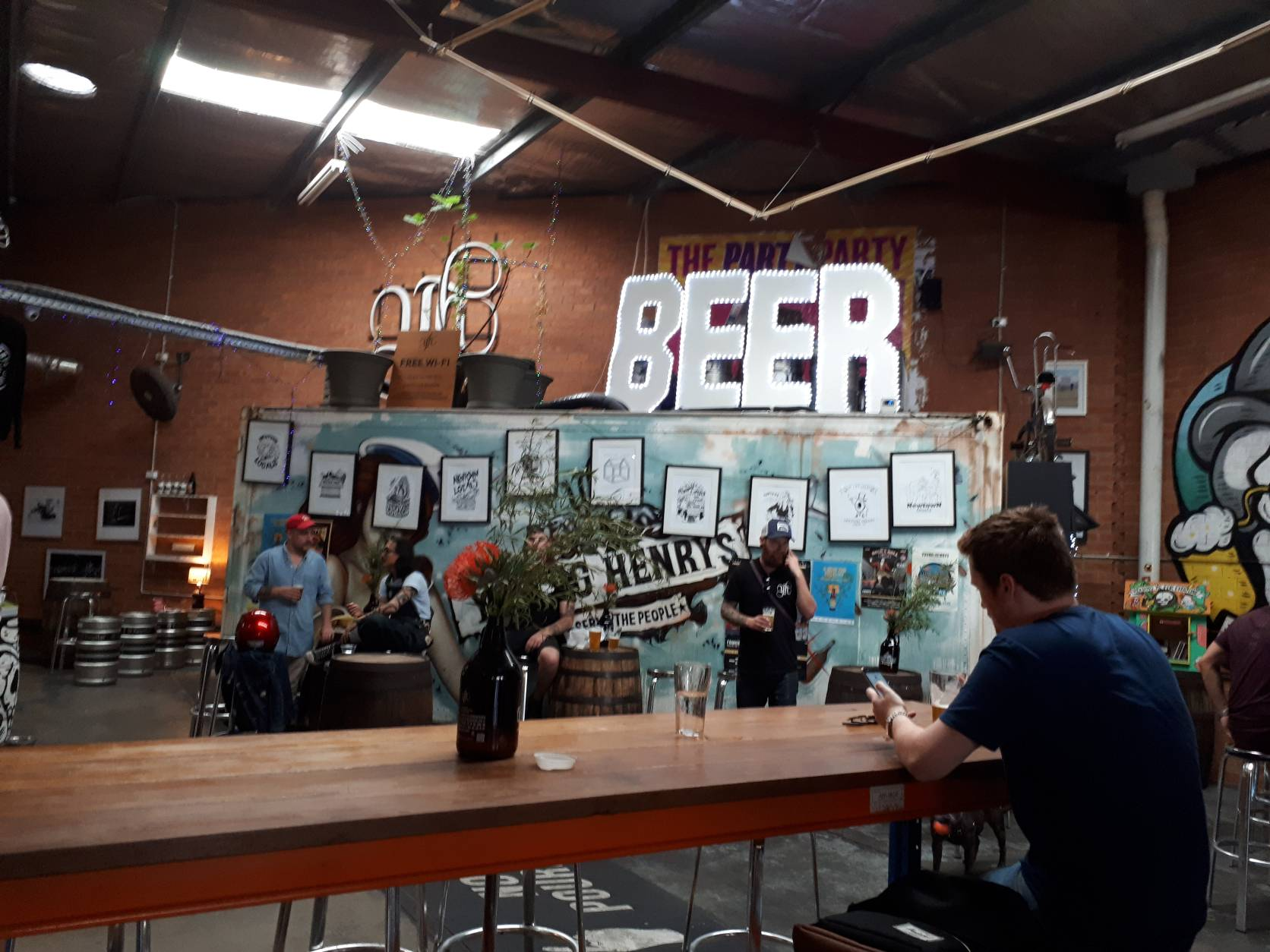 Young Henrys Brewery in Sydney